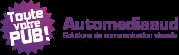 Publicité Montpellier, enseignes, adhésifs, signalétiques, pose et mise en place Logo